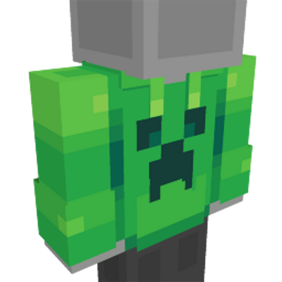 Creeper Hoodie on the Minecraft Marketplace by Ninja Squirrel Gaming