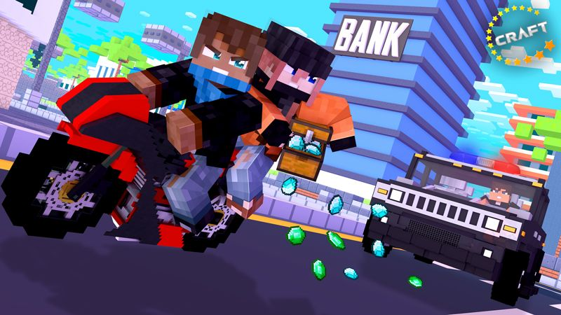 Robbers on the Minecraft Marketplace by The Craft Stars