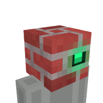 Brick Head on the Minecraft Marketplace by Zombeanie