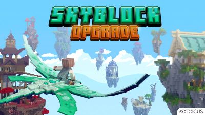 Skyblock Upgrade on the Minecraft Marketplace by Mythicus