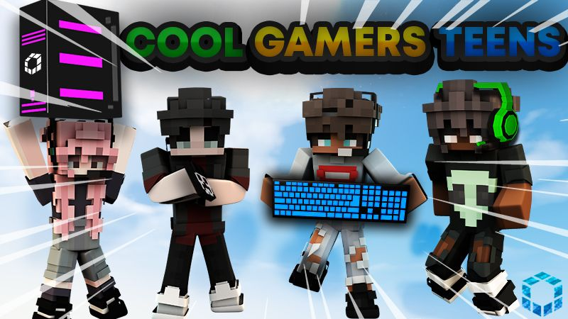 Cool Gamers Teens on the Minecraft Marketplace by UnderBlocks Studios