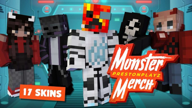 PrestonPlayz Monster Merch on the Minecraft Marketplace by Meatball Inc