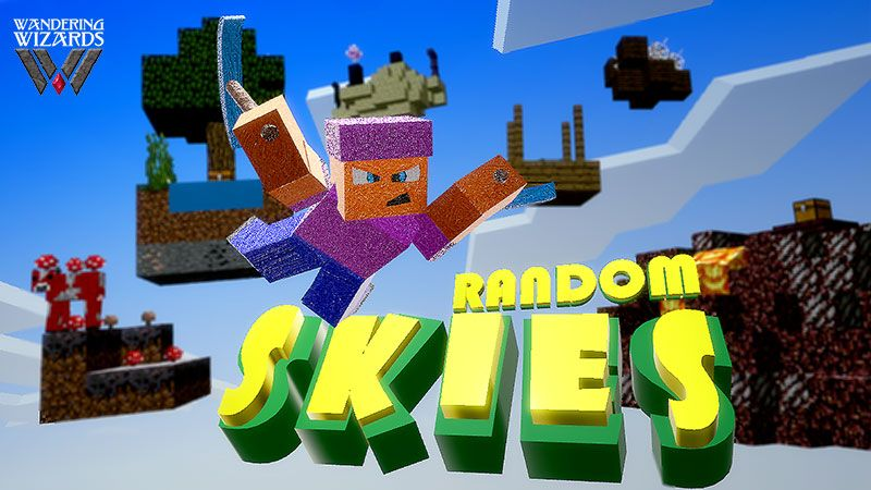 Random Skies Temple of Tunes on the Minecraft Marketplace by Wandering Wizards