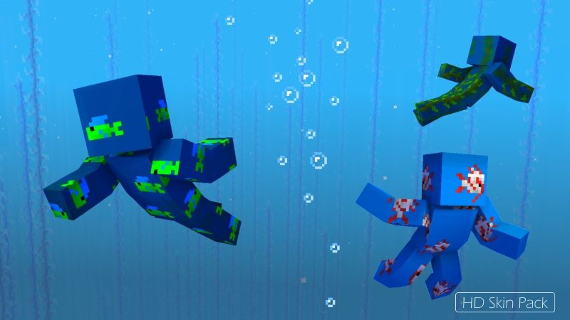 Ocean Sneak Attack Mega Pack on the Minecraft Marketplace by Arrow Art Games