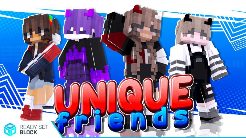 Unique Friends on the Minecraft Marketplace by Ready, Set, Block!