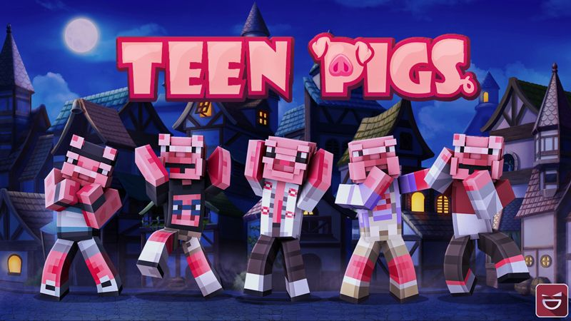 Teen Pigs on the Minecraft Marketplace by Giggle Block Studios