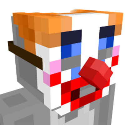 Clown Mask on the Minecraft Marketplace by CubeCraft Games