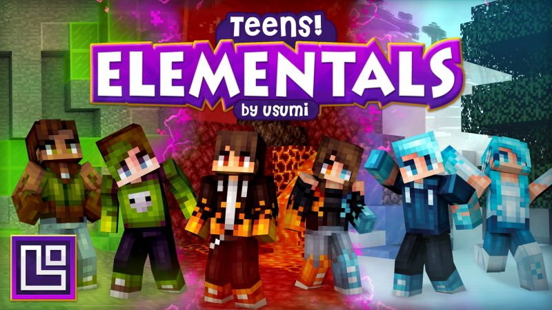 Teens Elementals on the Minecraft Marketplace by Pixel Squared