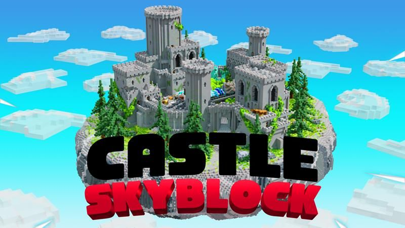 Castle Skyblock on the Minecraft Marketplace by Vertexcubed