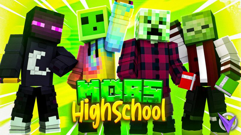 Mobs Highschool on the Minecraft Marketplace by Team Visionary