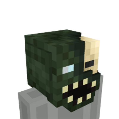 Blind Zombie Head on the Minecraft Marketplace by Blu Shutter Bug