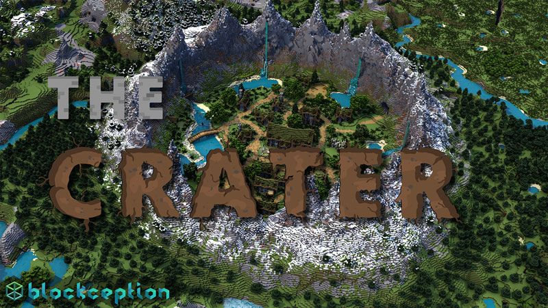 The Crater on the Minecraft Marketplace by Blockception