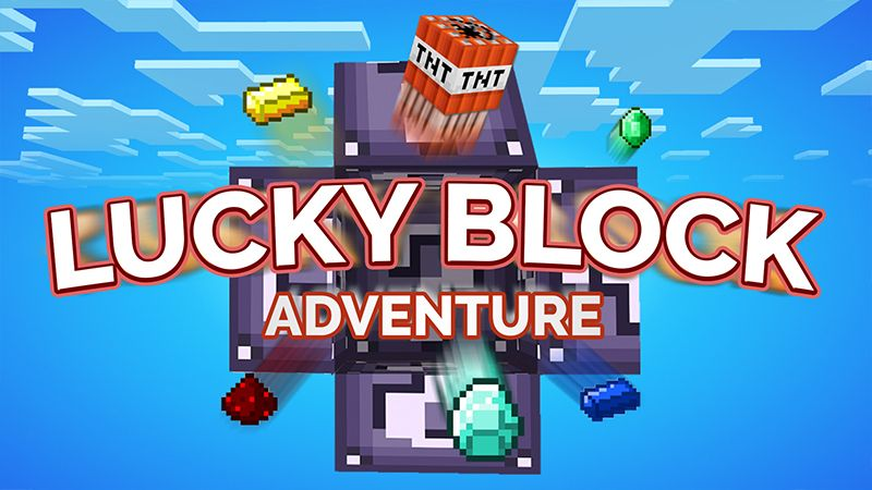 Lucky Block Adventure on the Minecraft Marketplace by ChewMingo
