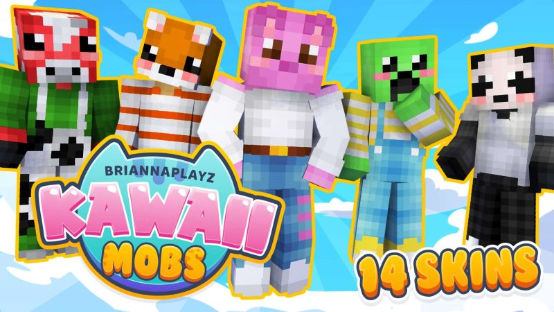 BriannaPlayz Kawaii Mobs on the Minecraft Marketplace by Meatball Inc