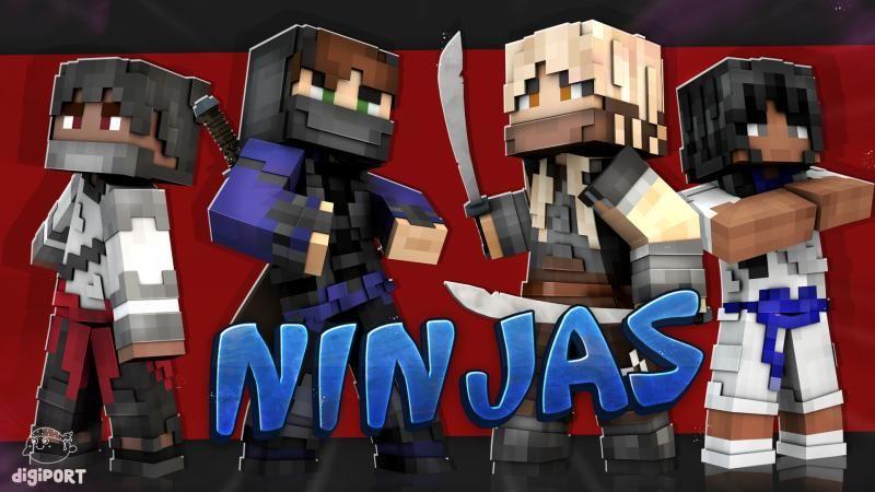Ninjas on the Minecraft Marketplace by DigiPort