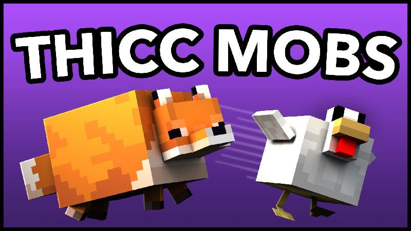 Thicc Mobs on the Minecraft Marketplace by Minetite