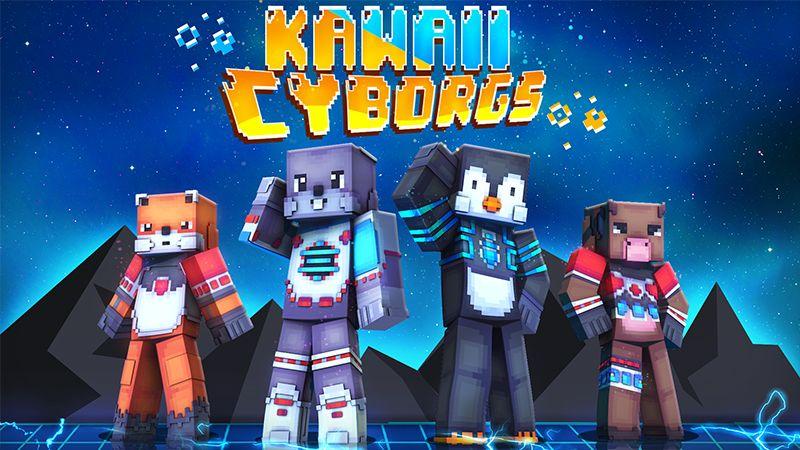 Kawaii Cyborgs on the Minecraft Marketplace by Dark Lab Creations