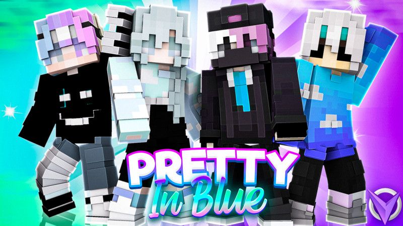 Pretty in Blue on the Minecraft Marketplace by Team Visionary