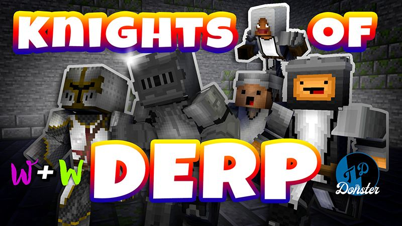 Knights of Derp on the Minecraft Marketplace by The Wizard and Wyld
