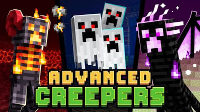 Advanced Creepers on the Minecraft Marketplace by Enchanted