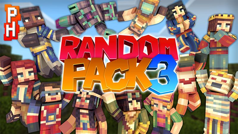 Random Pack 3 on the Minecraft Marketplace by PixelHeads