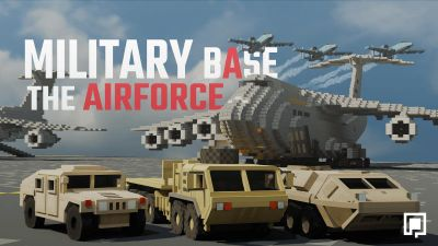 Military Base The Airforce on the Minecraft Marketplace by BLOCKLAB Studios