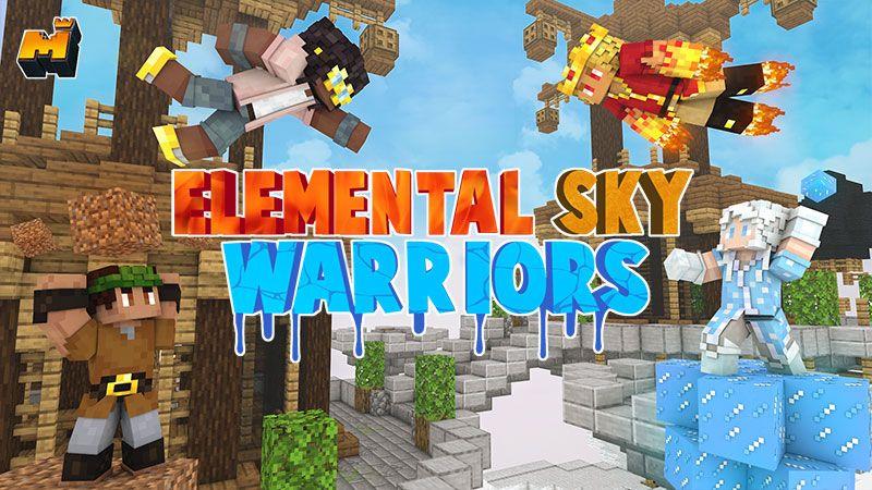 Elemental Sky Warriors on the Minecraft Marketplace by Mineplex