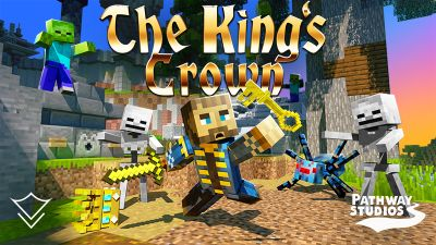 The Kings Crown on the Minecraft Marketplace by Pathway Studios