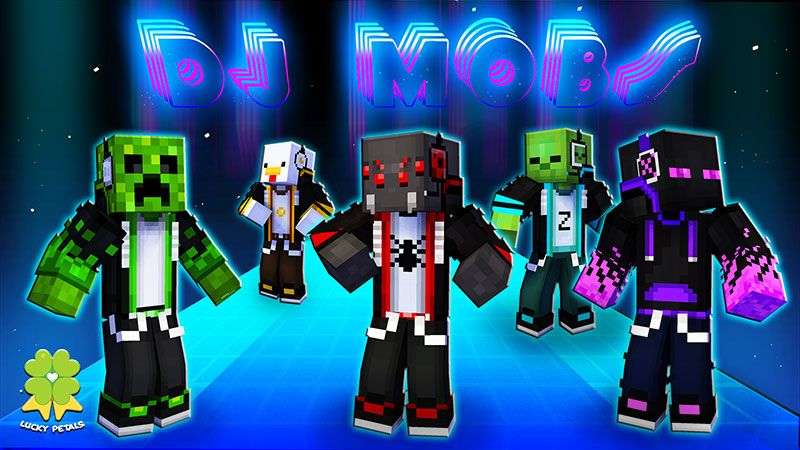 DJ Mobs on the Minecraft Marketplace by The Lucky Petals
