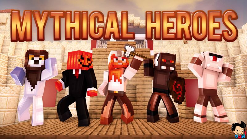 Mythical Heroes on the Minecraft Marketplace by Duh