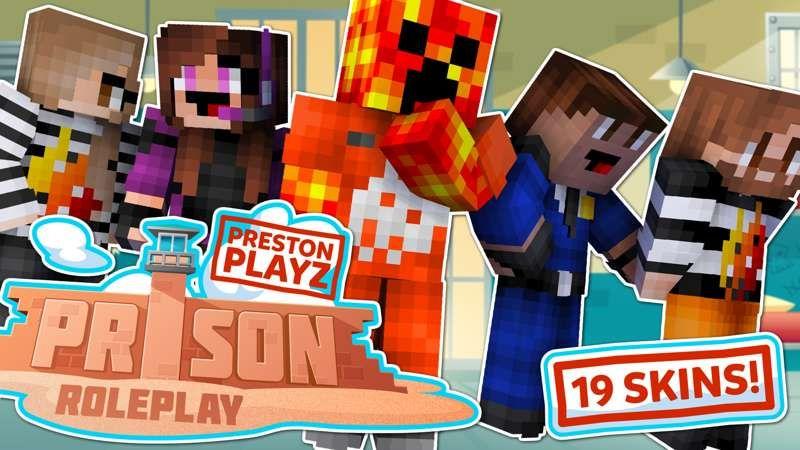 PrestonPlayz Prison Roleplay on the Minecraft Marketplace by Meatball Inc