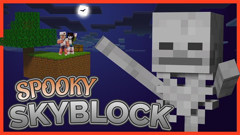 Skyblock Spooky on the Minecraft Marketplace by ChewMingo