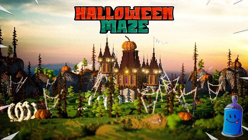 Halloween Maze on the Minecraft Marketplace by 4KS Studios