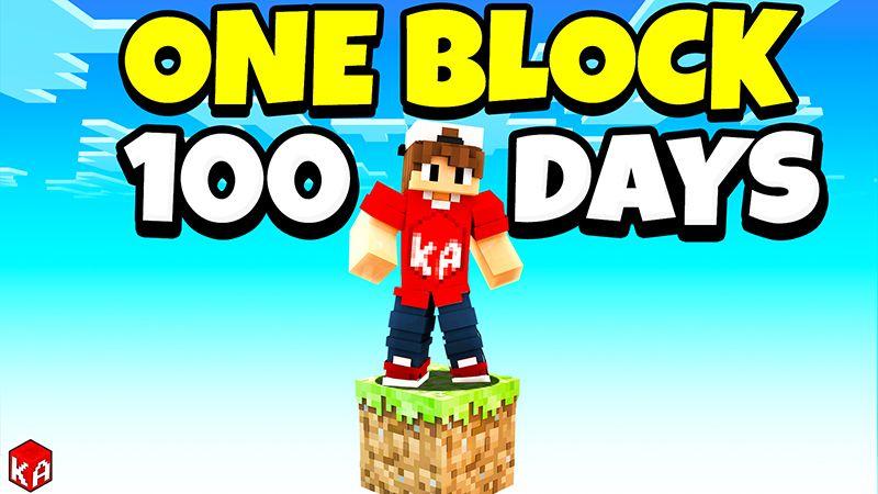 ONE BLOCK 100 Days on the Minecraft Marketplace by KA Studios