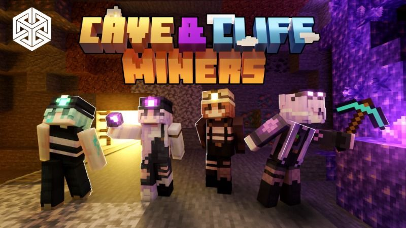 Cave  Cliff Miners on the Minecraft Marketplace by Yeggs