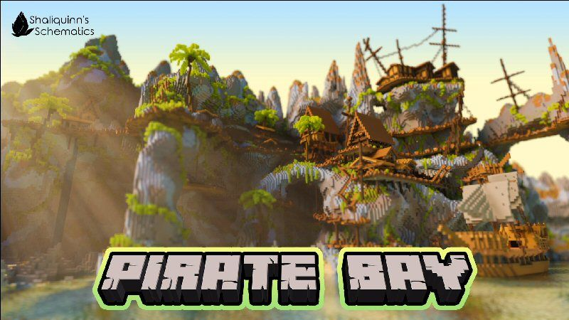 Pirate Bay on the Minecraft Marketplace by Shaliquinn's Schematics