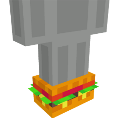 Burger Shoes on the Minecraft Marketplace by Noxcrew