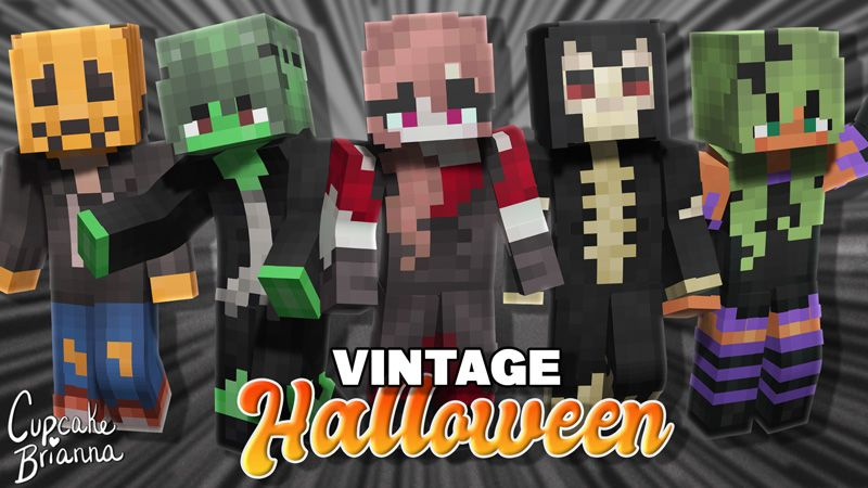 Vintage Halloween Skin Pack on the Minecraft Marketplace by CupcakeBrianna
