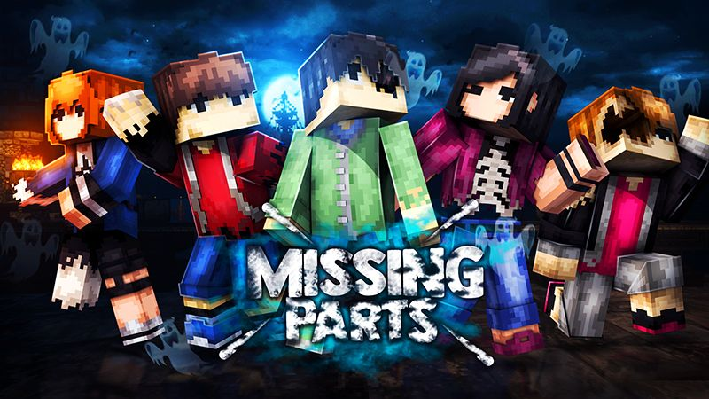 Missing Parts on the Minecraft Marketplace by The Lucky Petals