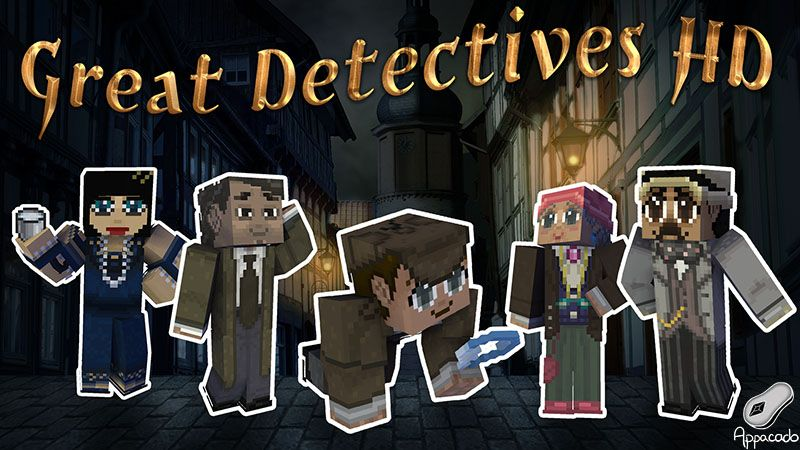 Great Detectives HD on the Minecraft Marketplace by Appacado