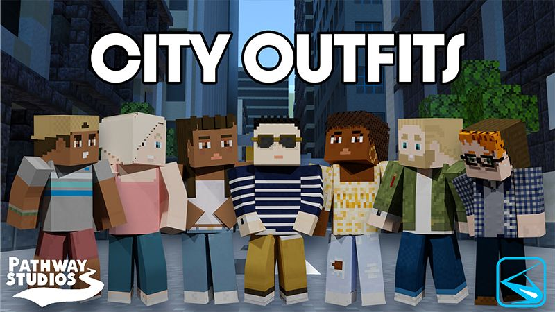 City Outfits on the Minecraft Marketplace by Pathway Studios