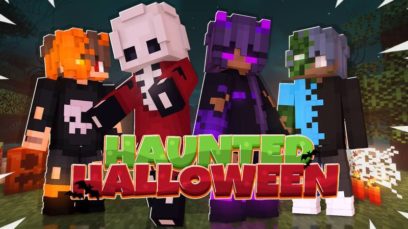 Haunted Halloween on the Minecraft Marketplace by BLOCKLAB Studios