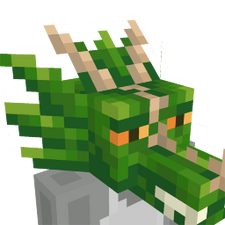 Dragon Head on the Minecraft Marketplace by Panascais