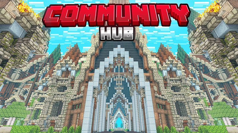 Community Hub on the Minecraft Marketplace by Dig Down Studios