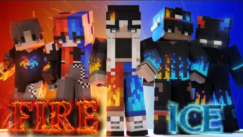 Fire and Ice on the Minecraft Marketplace by Nitric Concepts