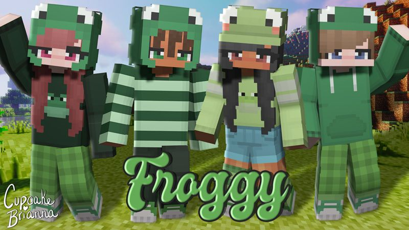 Froggy HD Skin Pack on the Minecraft Marketplace by CupcakeBrianna
