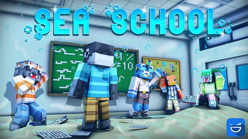 Sea School on the Minecraft Marketplace by Giggle Block Studios