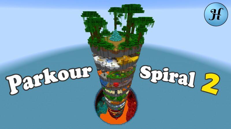 Parkour Spiral 2 on the Minecraft Marketplace by Hielke Maps