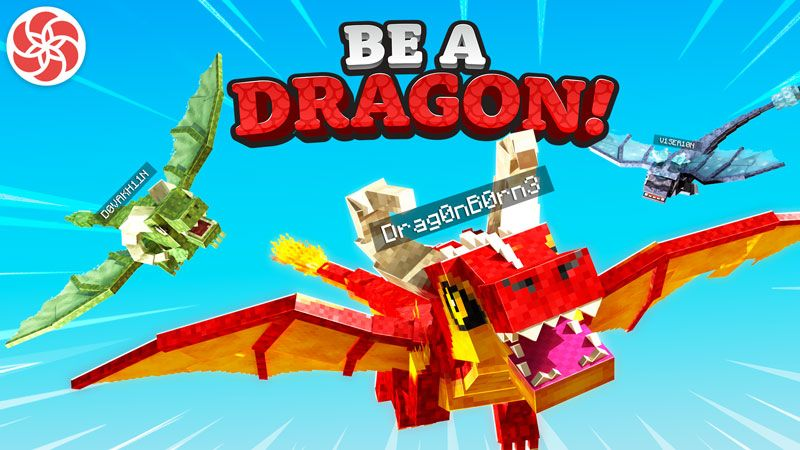 Be a Dragon on the Minecraft Marketplace by Everbloom Games