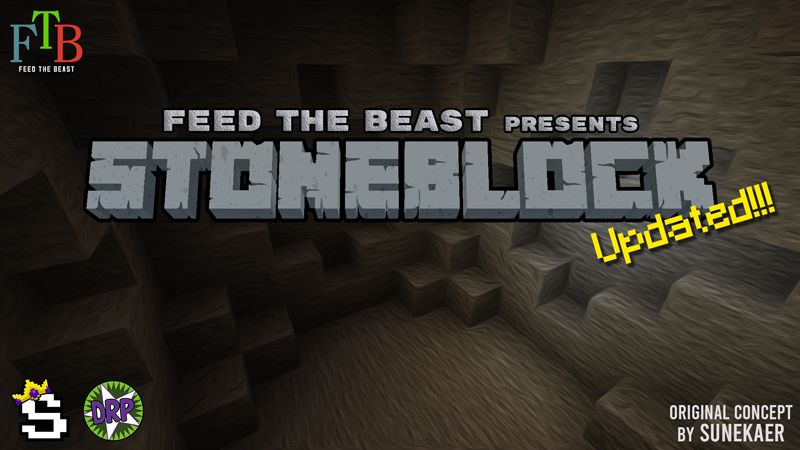 Stoneblock on the Minecraft Marketplace by FTB